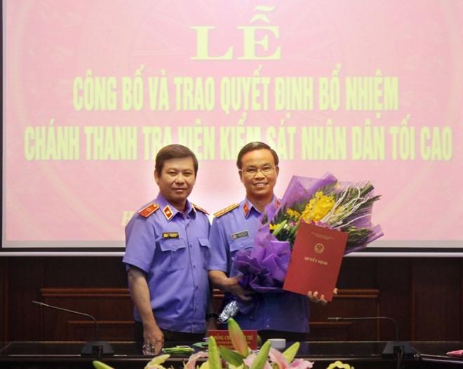 Thư ký ông Nguyễn Bá Thanh được bổ nhiệm Chánh Thanh tra Viện kiểm sát nhân dân tối cao - ảnh 1