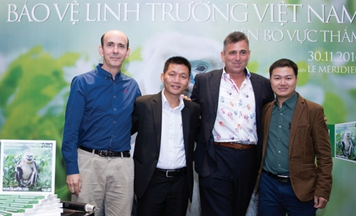 Hơn 50 lãnh đạo DN Việt Nam kêu gọi bảo vệ linh trưởng  - ảnh 2