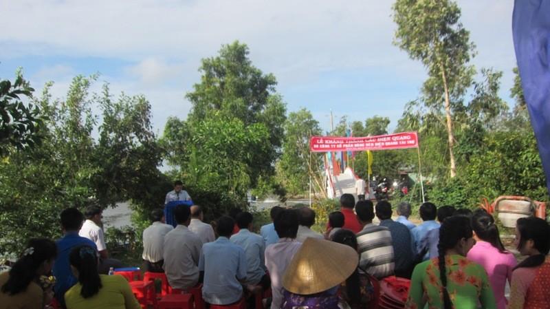 Thêm một cây cầu cho học sinh Cà Mau - ảnh 2