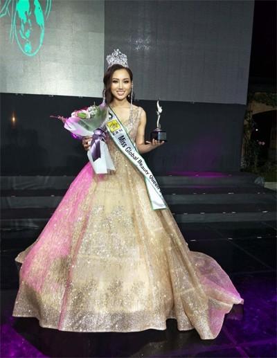 Hoàng Thu Thảo đăng quang Miss Global Beauty Queen 2017 - ảnh 1