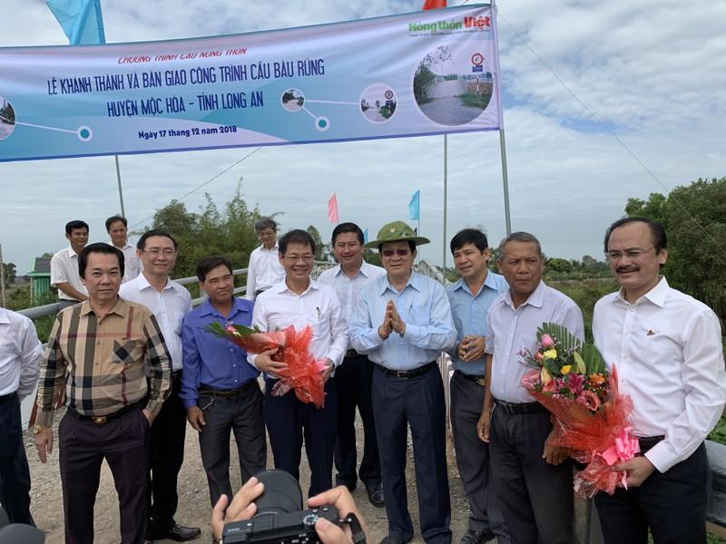 Nguyên CTN Trương Tấn Sang mang cầu nông thôn đến người dân  - ảnh 1
