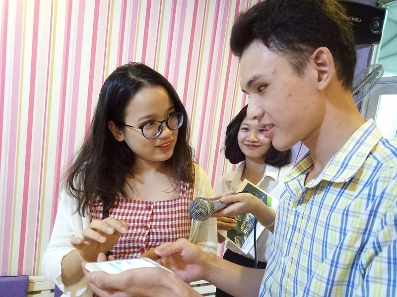 Kênh truyền thông dành cho người khiếm thị đầu tiên tại VN - ảnh 2