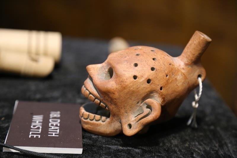 Tới Đắk Nông ngắm kèn thổi thần chết Aztec của người Maya  - ảnh 4