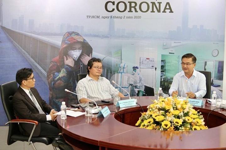 Giao lưu trực tuyến 'Hiểu đúng và đối phó dịch Corona' - ảnh 4