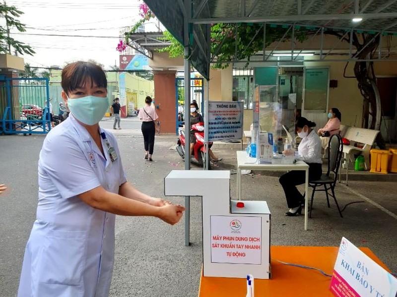 Máy sát khuẩn tự động 500.000 đồng của BV Khánh Hòa  - ảnh 2