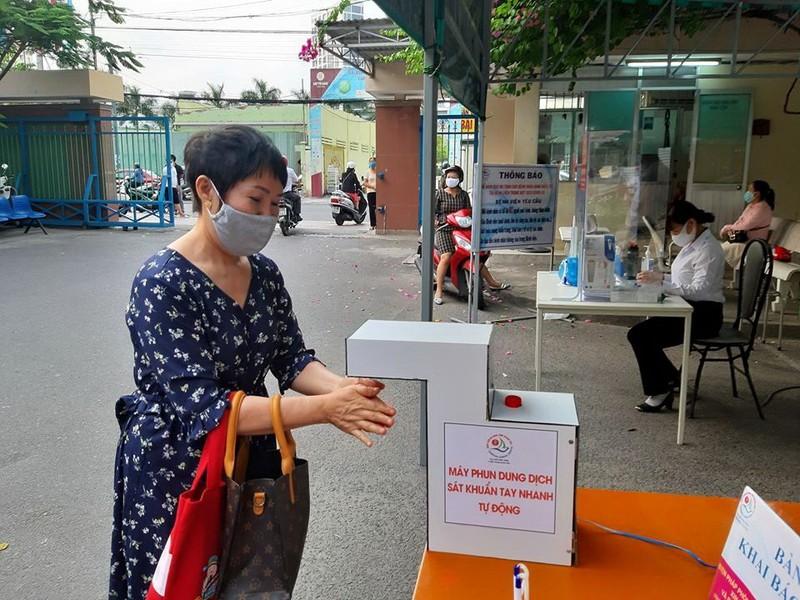 Máy sát khuẩn tự động 500.000 đồng của BV Khánh Hòa  - ảnh 3