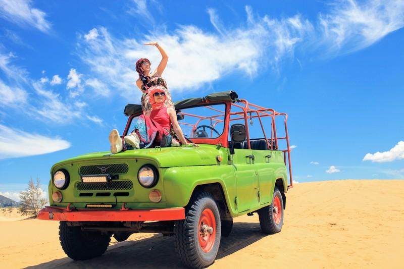 """Mùa hè khám phá """"tiểu sa mạc"""" Mũi Dinh - ảnh 8"""