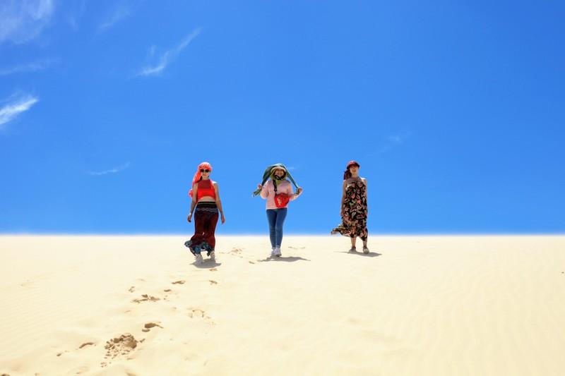 """Mùa hè khám phá """"tiểu sa mạc"""" Mũi Dinh - ảnh 7"""