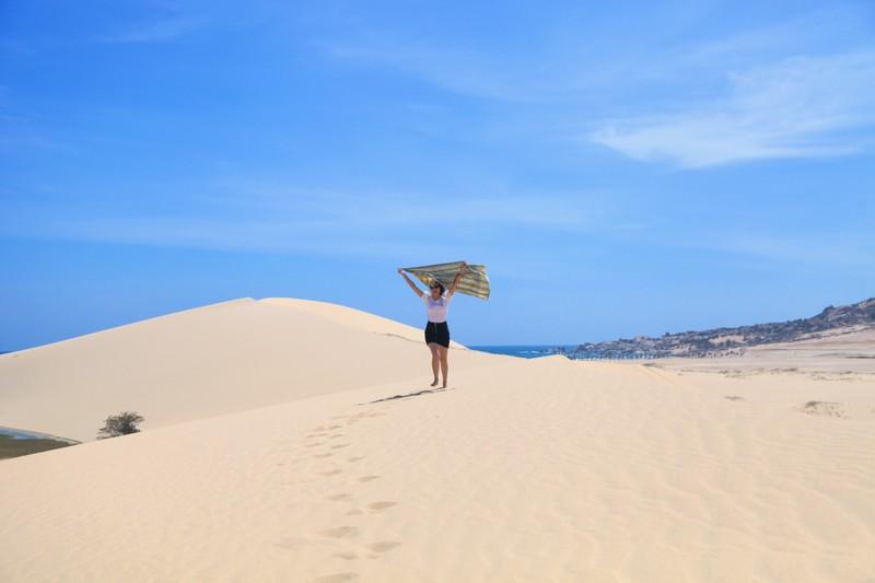 """Mùa hè khám phá """"tiểu sa mạc"""" Mũi Dinh - ảnh 5"""