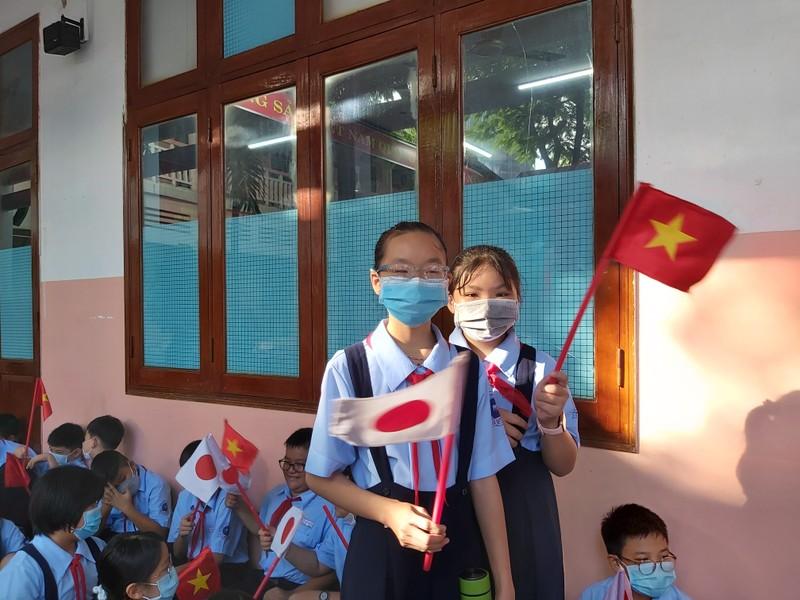 Hơn 22 triệu học sinh cả nước rộn ràng khai giảng năm học mới  - ảnh 8