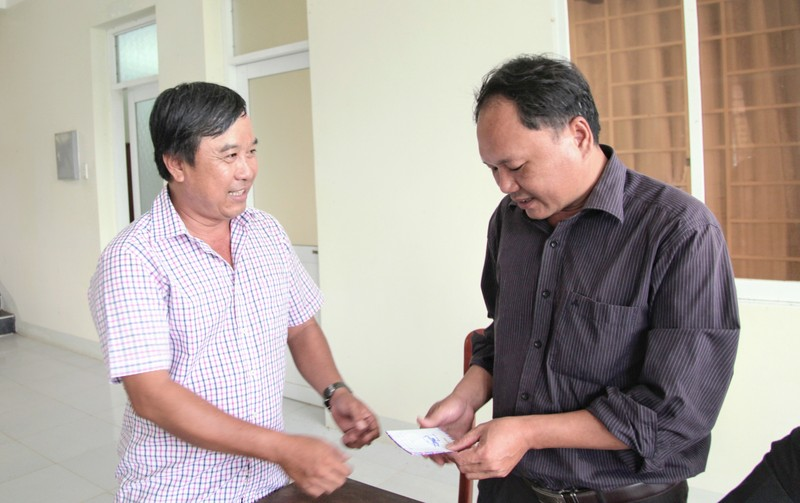 Khi đàn bò tót lai ở Ninh Thuận được đổi chủ  - ảnh 7