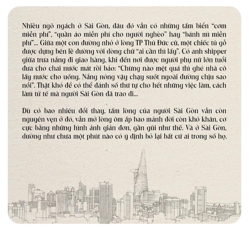 Đếm sao cho hết nghĩa tình người Sài Gòn - ảnh 18