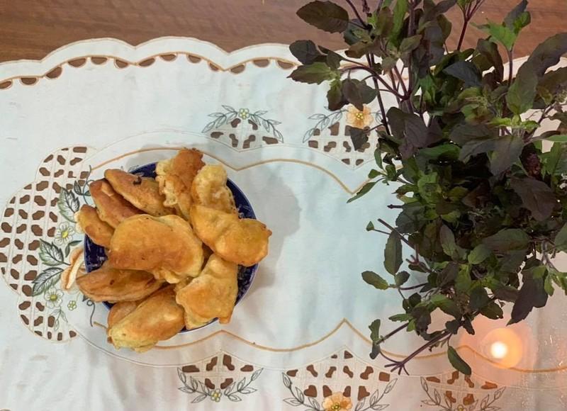 Bánh gối sa kê, quà tặng thiên nhiên không phải ai cũng biết  - ảnh 2