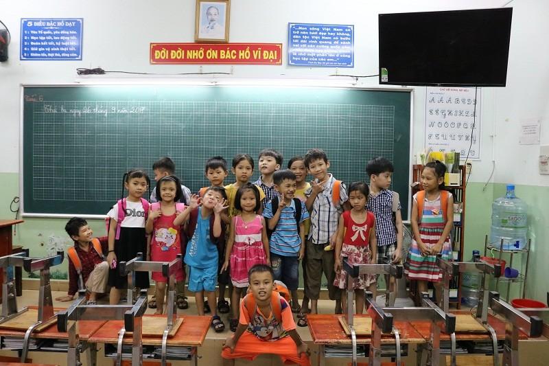 Ngày đầu Ngọc Hân đến lớp học - ảnh 15