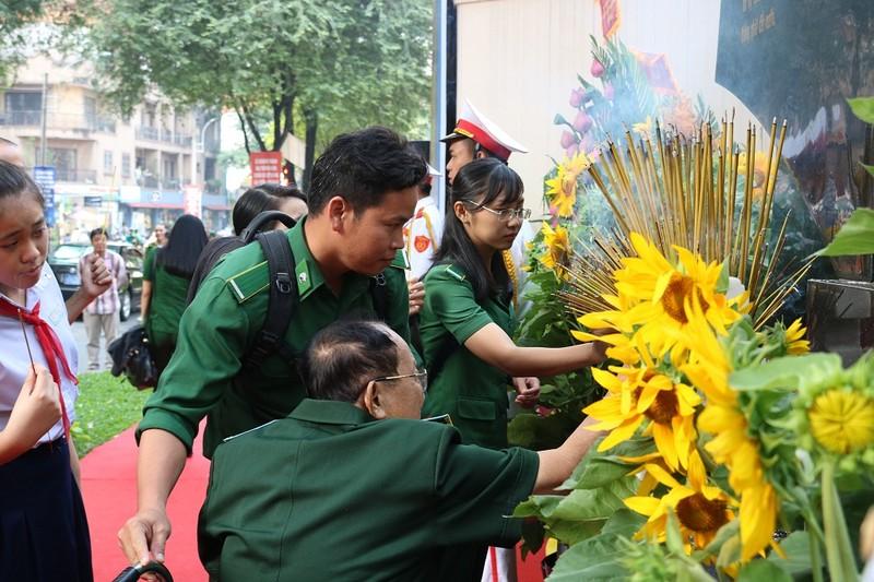 Khánh thành bia tưởng niệm chiến sĩ biệt động Sài Gòn - ảnh 5