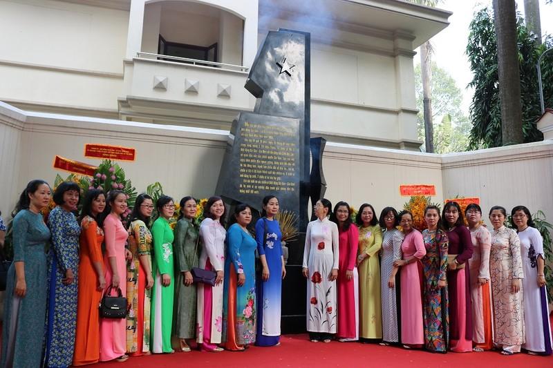 Khánh thành bia tưởng niệm chiến sĩ biệt động Sài Gòn - ảnh 2