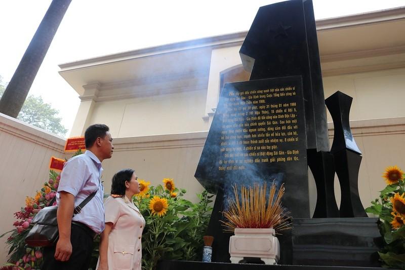 Khánh thành bia tưởng niệm chiến sĩ biệt động Sài Gòn - ảnh 3