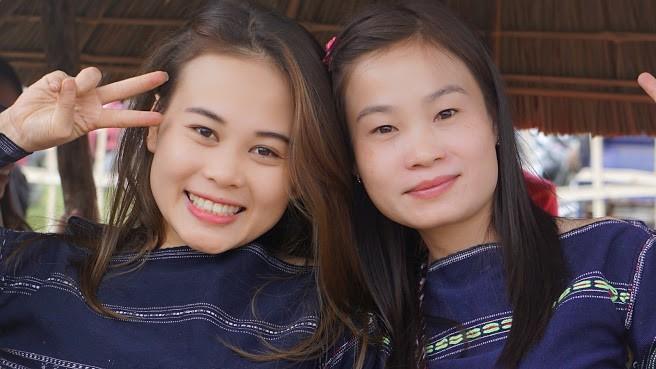 Ngẩn ngơ trước vẻ đẹp của các cô gái Bahnar - ảnh 8