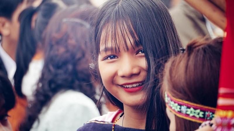 Ngẩn ngơ trước vẻ đẹp của các cô gái Bahnar - ảnh 3