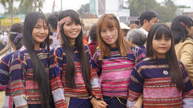 Ngẩn ngơ trước vẻ đẹp của các cô gái Bahnar - ảnh 7