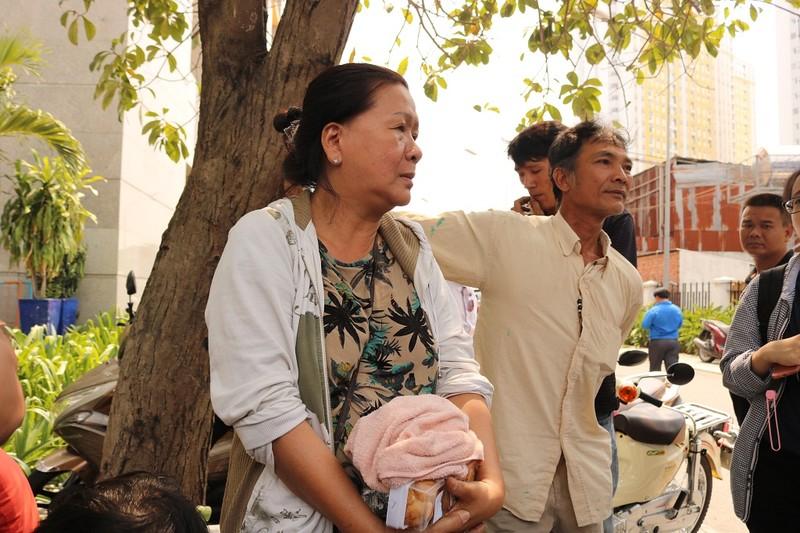 Vụ cháy Carina: Những giây phút kinh hoàng của cư dân  - ảnh 2