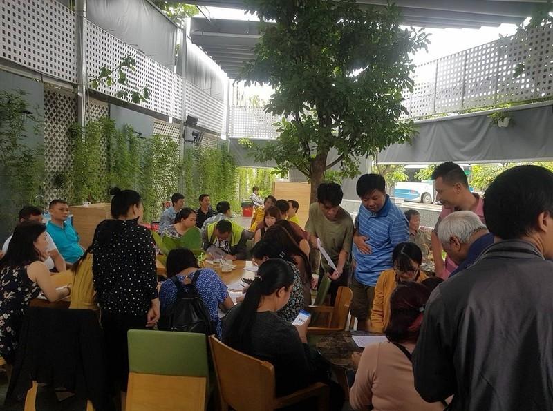 Cư dân Carina làm đơn cầu cứu Bí thư Nguyễn Thiện Nhân - ảnh 1