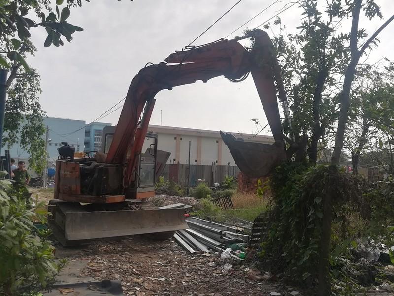 Tháo dỡ 20 công trình không phép ở phường Linh Trung, Thủ Đức - ảnh 1