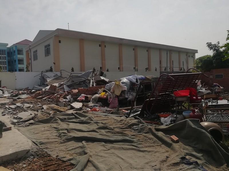 Tháo dỡ 20 công trình không phép ở phường Linh Trung, Thủ Đức - ảnh 2