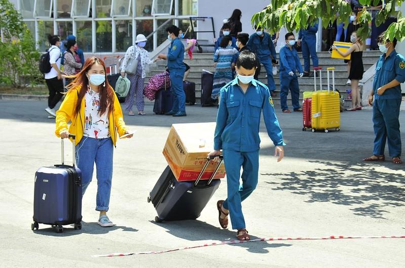 Hơn 2.000 người hoàn thành cách ly ở KTX ĐH Quốc gia TP.HCM - ảnh 3
