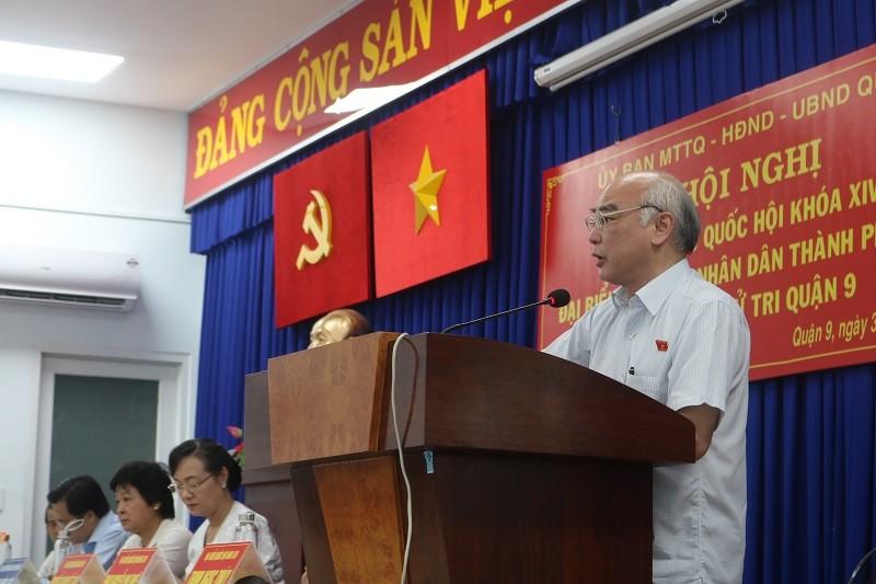 Ông Phan Nguyễn Như Khuê trả lời về việc cưỡng chế xây dựng - ảnh 1