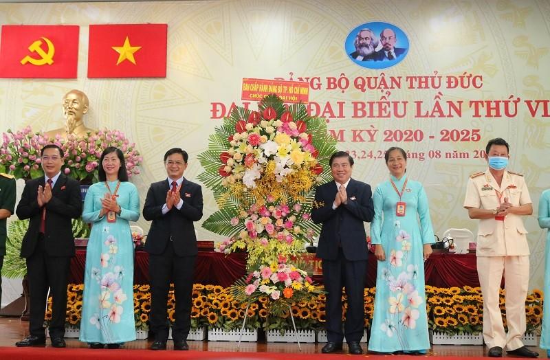 Chủ tịch Nguyễn Thành Phong 'đặt hàng' với quận Thủ Đức - ảnh 1