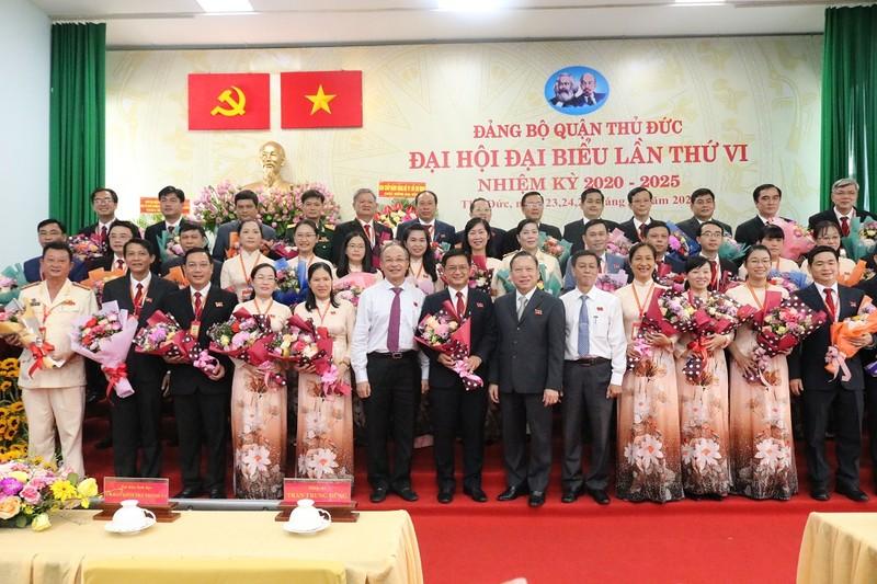 Ông Nguyễn Mạnh Cường tái đắc cử Bí thư quận ủy Thủ Đức - ảnh 2