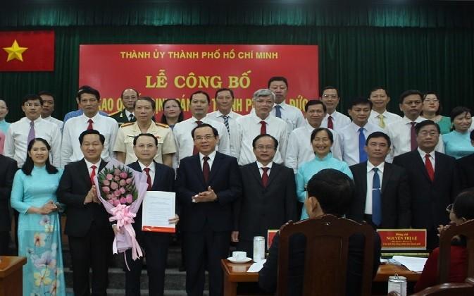 Ông Võ Tấn Quan làm Chánh văn phòng UBND TP Thủ Đức - ảnh 1