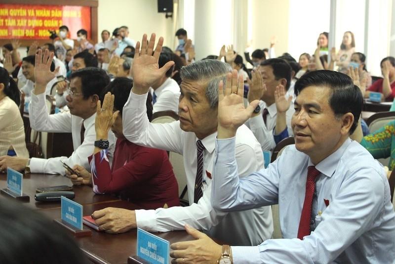 TP Thủ Đức công bố 13 đơn vị bầu cử đại biểu HĐND - ảnh 1