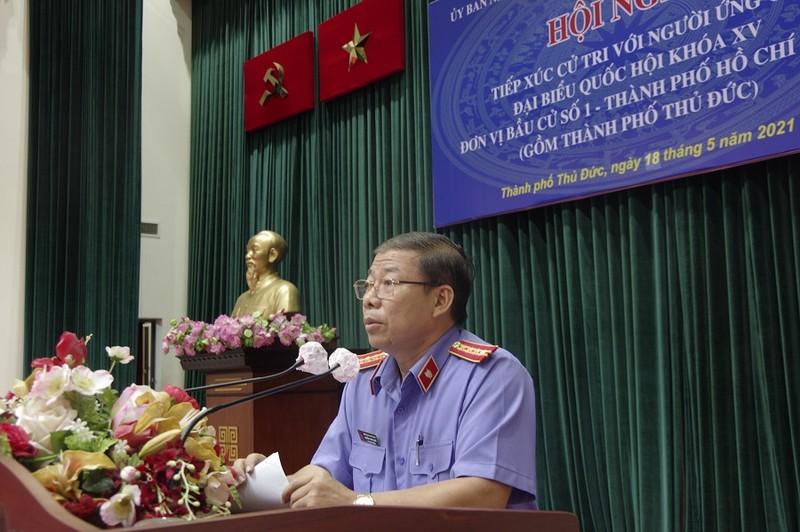 Viện phó VKS nói về việc giải quyết vụ KDC Hiệp Bình Chánh - ảnh 2