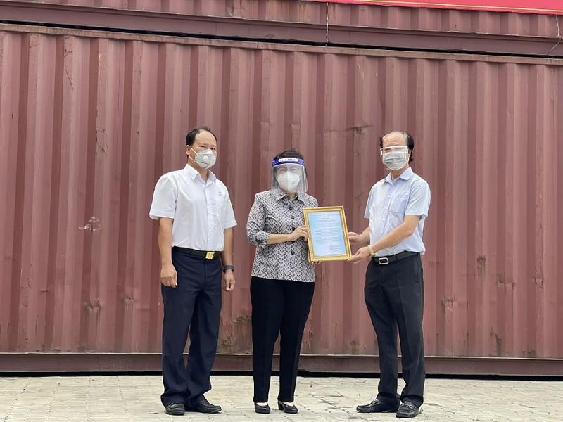 Hơn 1.700 tấn lương thực tỉnh Thanh Hóa hỗ trợ TP.HCM đã cập bến  - ảnh 1