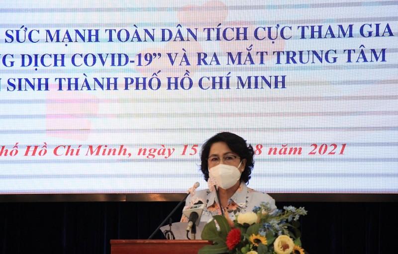 TP.HCM ra mắt trung tâm hỗ trợ người dân khó khăn do dịch COVID-19 - ảnh 1