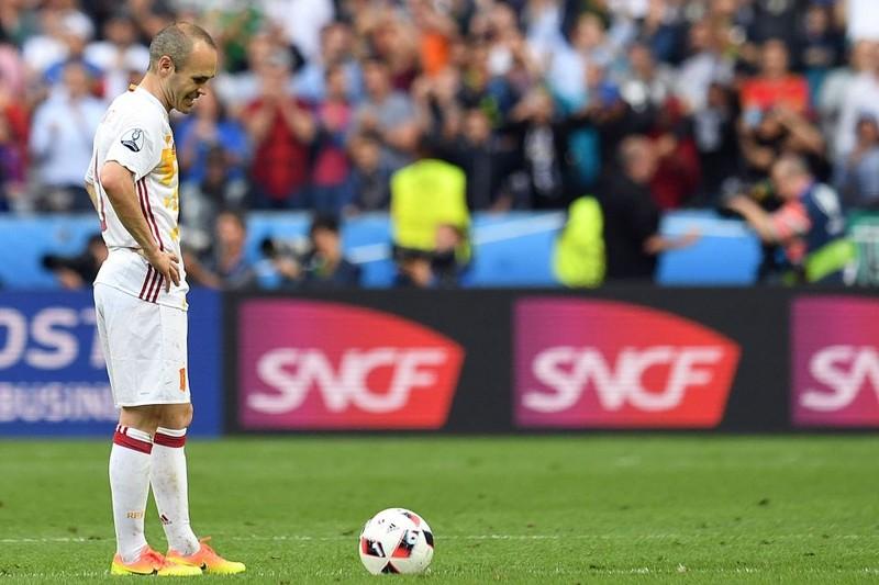 Iniesta là một trong những tiền vệ hay nhất thế giới