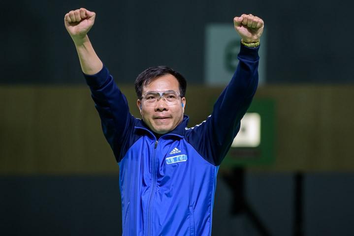 Ảnh: Khoảnh khắc vàng của Hoàng Xuân Vinh tại Olympic Rio  - ảnh 5