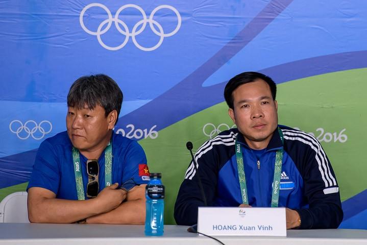 Ảnh: Khoảnh khắc vàng của Hoàng Xuân Vinh tại Olympic Rio  - ảnh 13