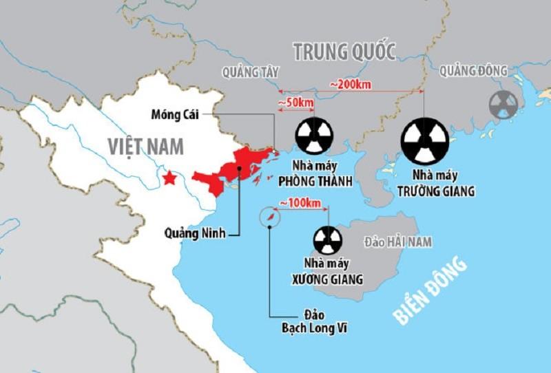 Việt Nam lên tiếng về nhà máy điện hạt nhân Trung Quốc  - ảnh 1