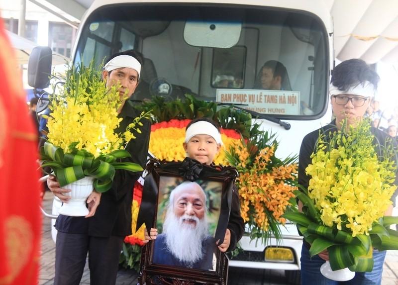 Tiếng khóc nghẹn ở lễ tang nhà giáo Văn Như Cương - ảnh 7