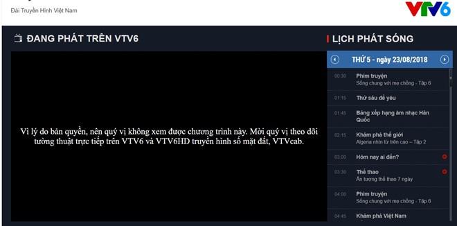 Vì sao VTV6 bị ngắt sóng trận Việt Nam-Bahrain? - ảnh 1