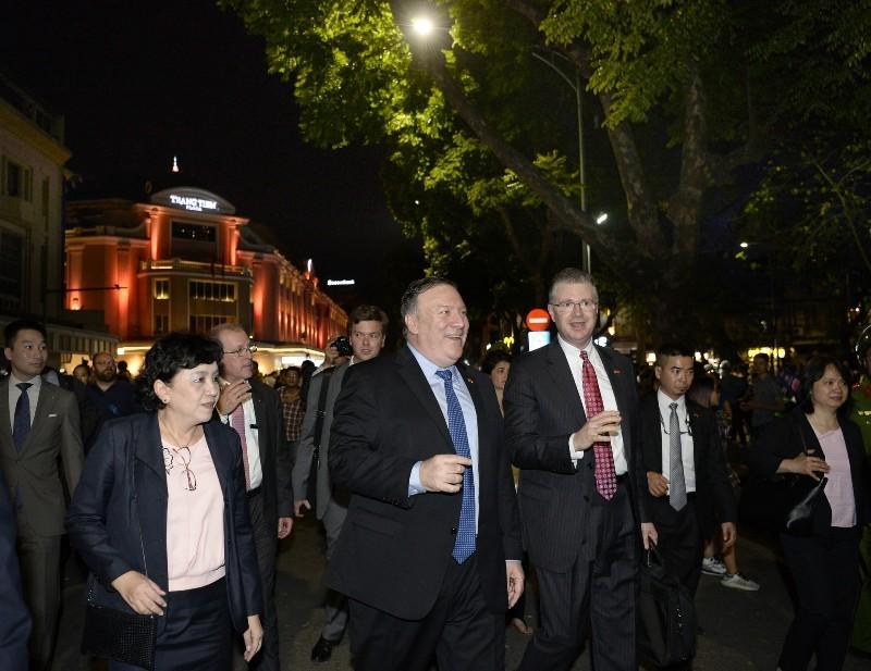 Ngoại trưởng Mỹ: Tình hữu nghị Việt - Mỹ tràn đầy hứa hẹn - ảnh 1