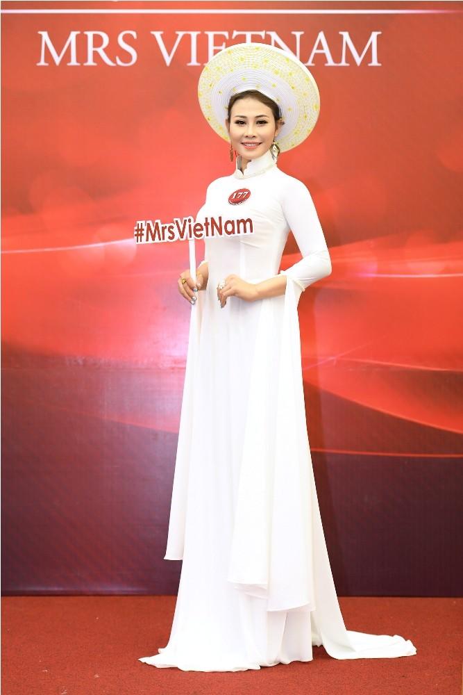 Giấu chồng đi thi Người mẫu quý bà Việt Nam 2018 - ảnh 2