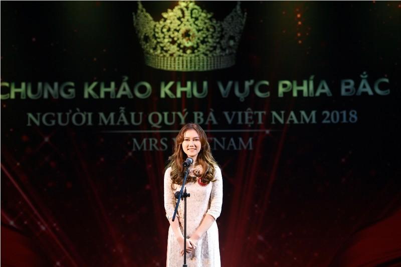 Giấu chồng đi thi Người mẫu quý bà Việt Nam 2018 - ảnh 4