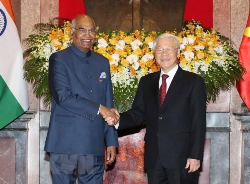 Việt Nam - Ấn Độ coi quốc phòng, an ninh là hợp tác chiến lược - ảnh 1