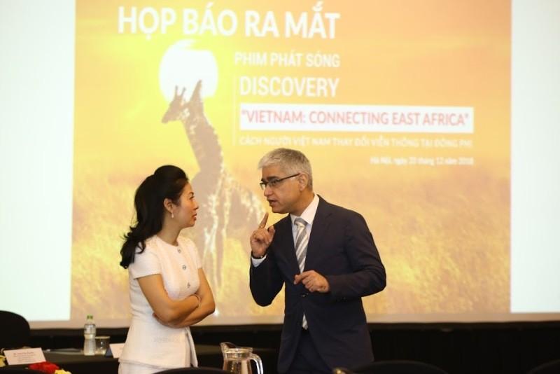 Discovery làm phim về hành trình người Việt tại Đông Phi - ảnh 1