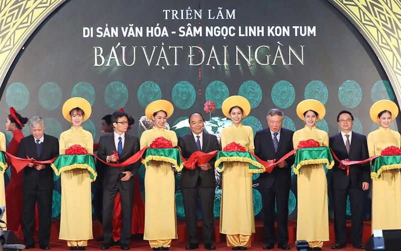 Sao Việt đổ bộ xem Báu vật đại ngàn - ảnh 1