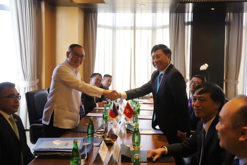 Việt Nam - Philippines quan ngại về diễn biến ở biển Đông - ảnh 1